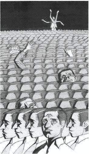 Люди под копирку