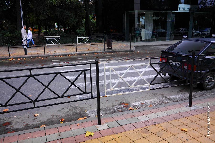 Бывший пешеходный переход