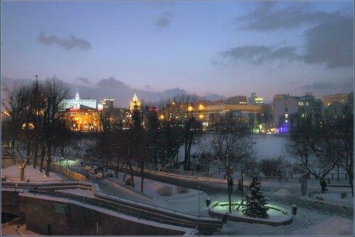 Зимние сказки Москвы