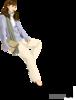 Девушка клипарт вектор