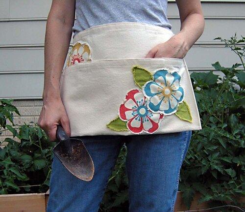 0 442b0 15bc9aa0 L Дачный передник из старой сумки своими руками
