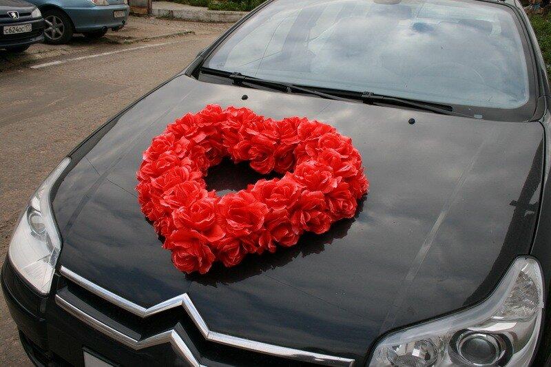 Сердце на машину своими руками фото 12