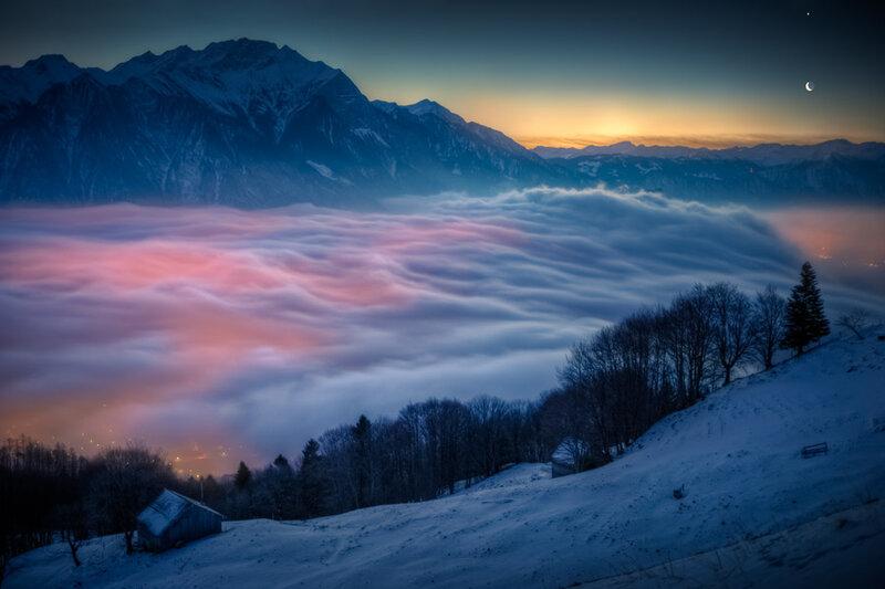 швейцарские альпы фото