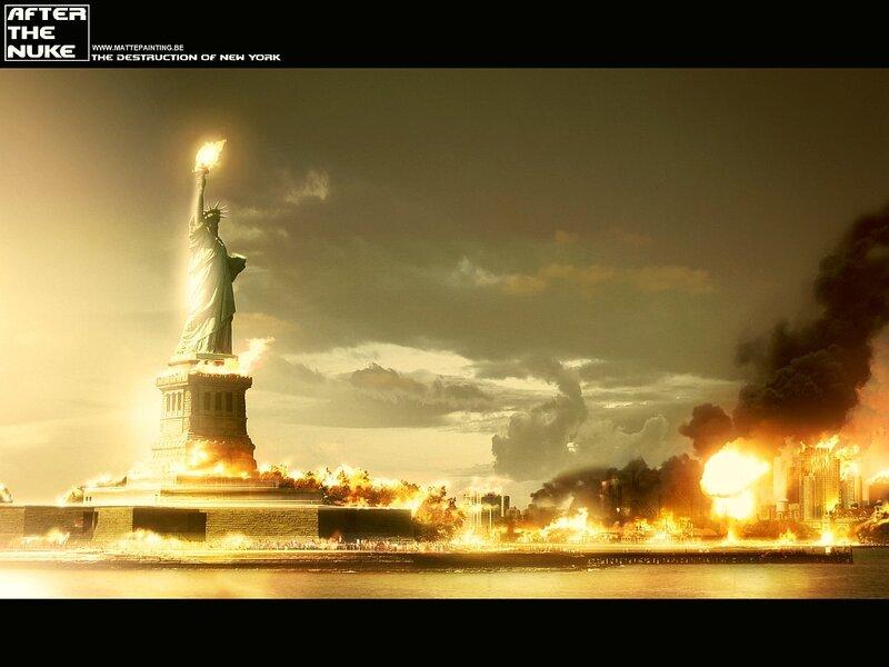Картинки по запросу ядерный взрыв в нью-йорке