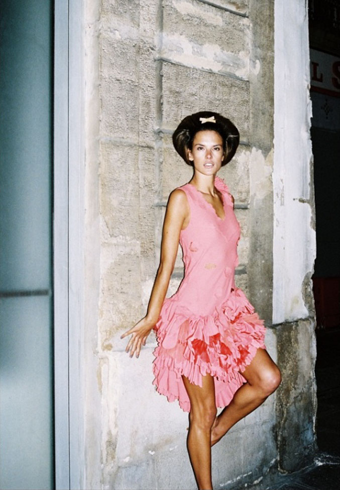 модель Алессандра Амбросио / Alessandra Ambrosio, фотограф Angelo Pennetta