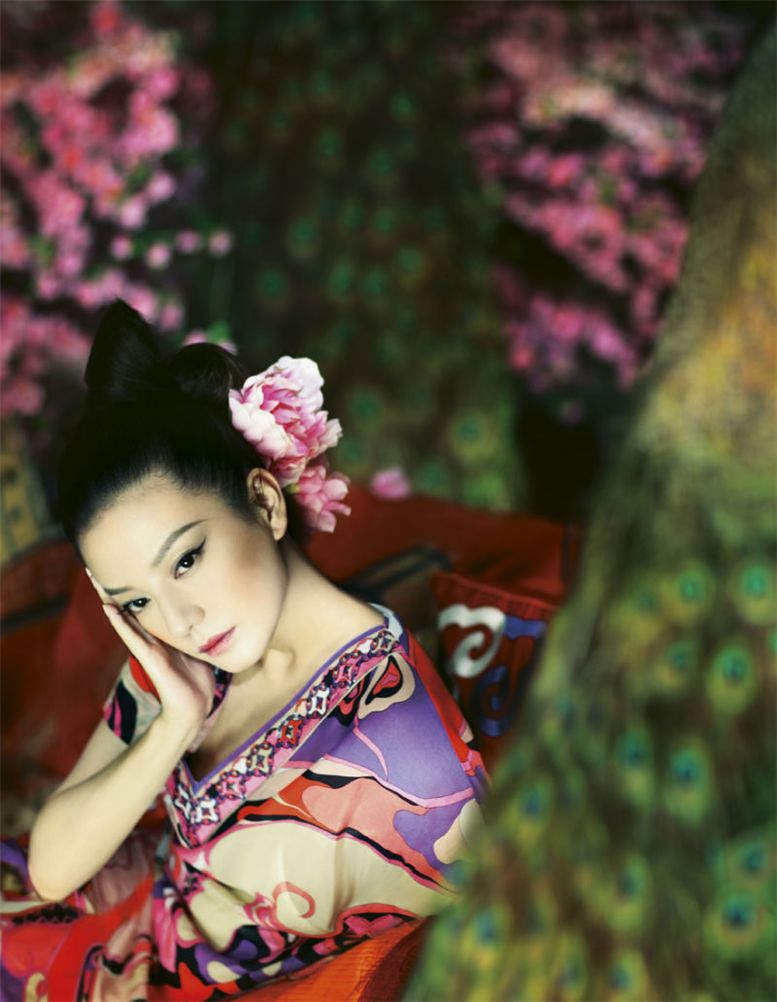 модель Жао Вей / Zhao Wei, фотограф Feng Hai