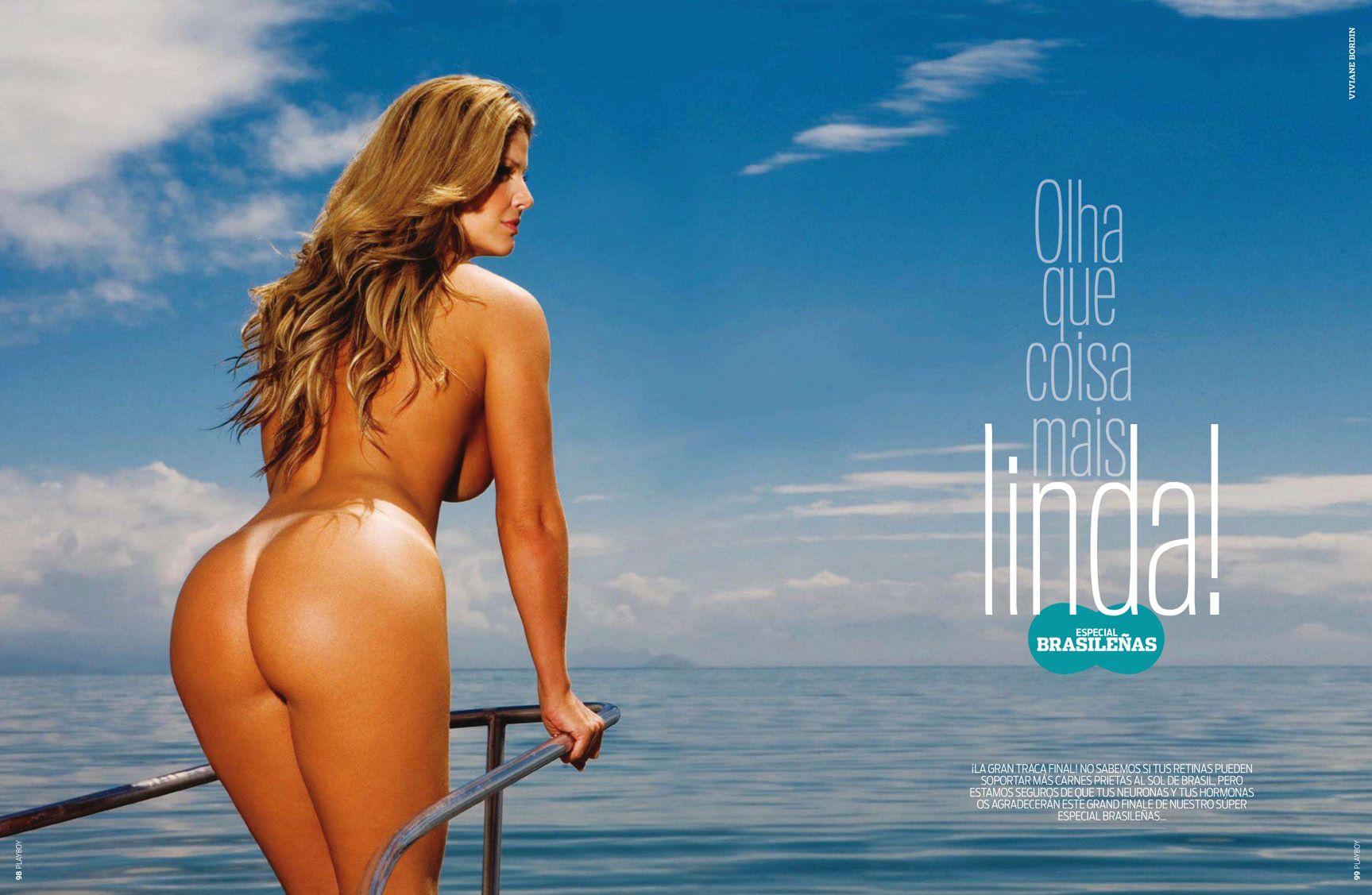 бразильские девушки / Especial Brasilenas in Playboy Spain january 2011 - Viviane Bordin