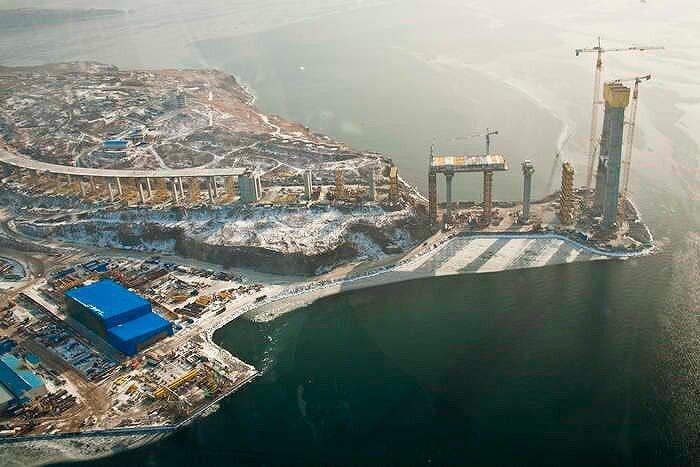 Владивосток - мост на Русский