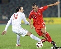 Сборная России по футболу опозорилась во втором матче подряд