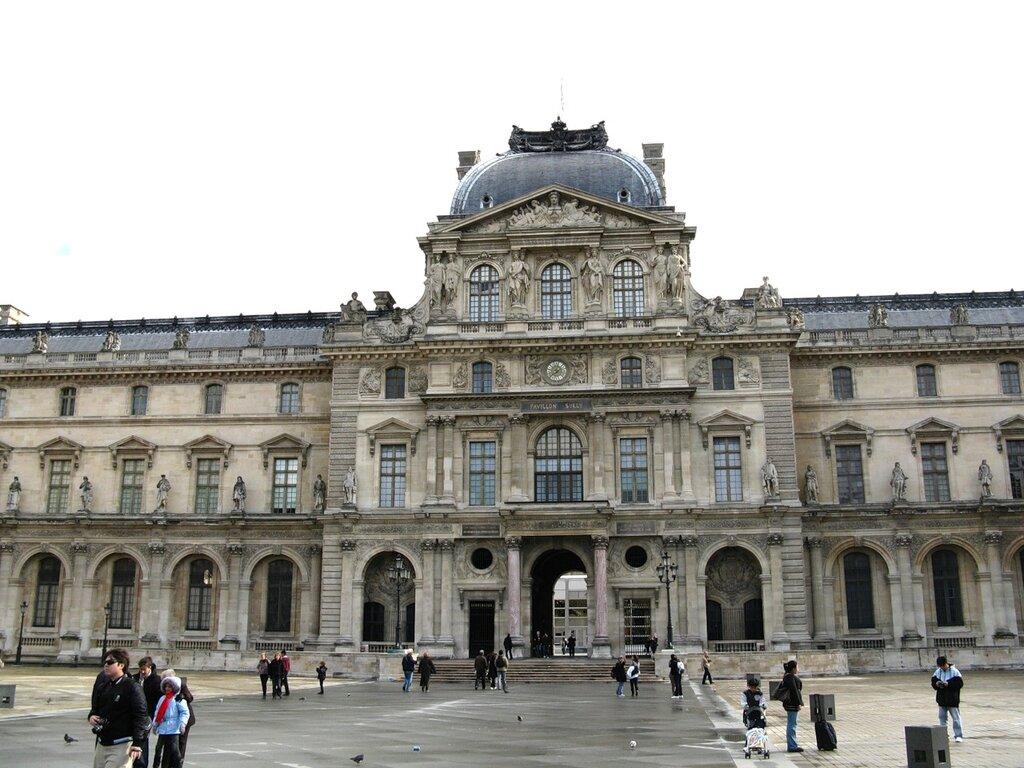 Луврский дворец (Palais du Louvre), Париж