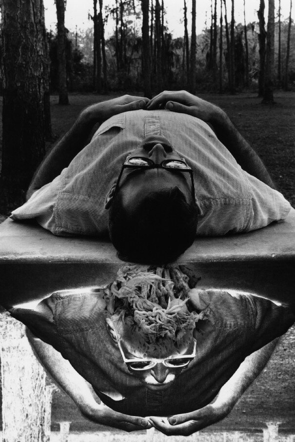 Self-portrait Jerry Uelsmann