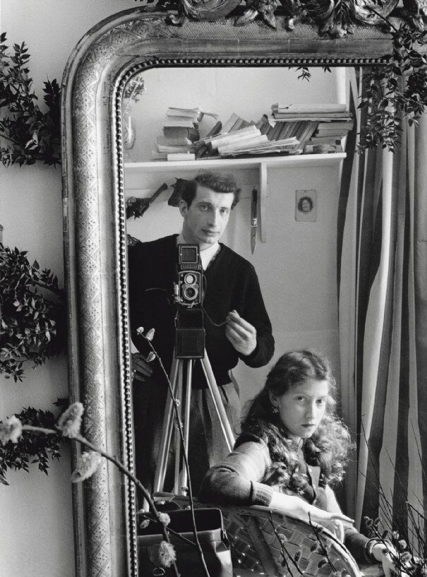 Self-portrait Edouard Boubat