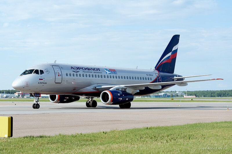 Sukhoi Superjet 100-95Б (RA-89024) Аэрофлот D809274