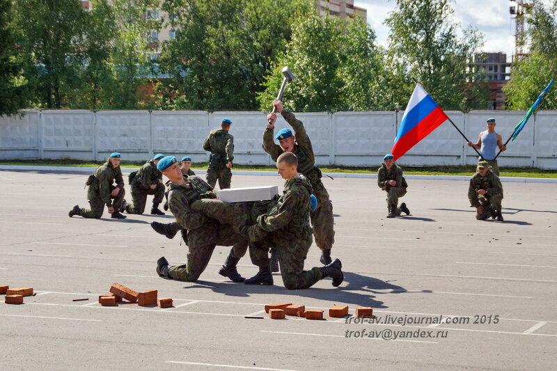 Показные выступления, Празднование 85-летия ВДВ в 45 полку СпН ВДВ (теперь отдельная бригада), Кубинка