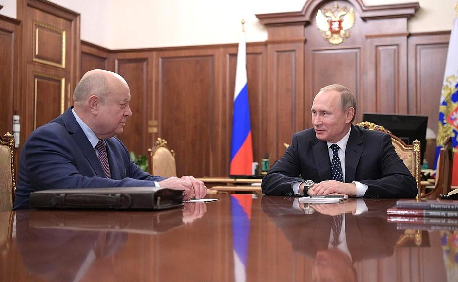 20170131-Встреча с Михаилом Фрадковым и Леонидом Решетниковым