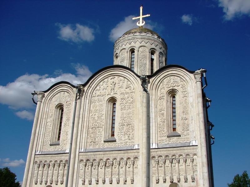 Граффити Дмитриевского собора