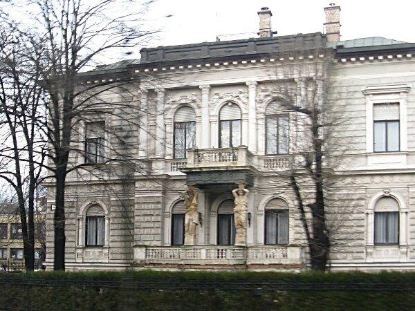 Будапешт. Пешт, зима