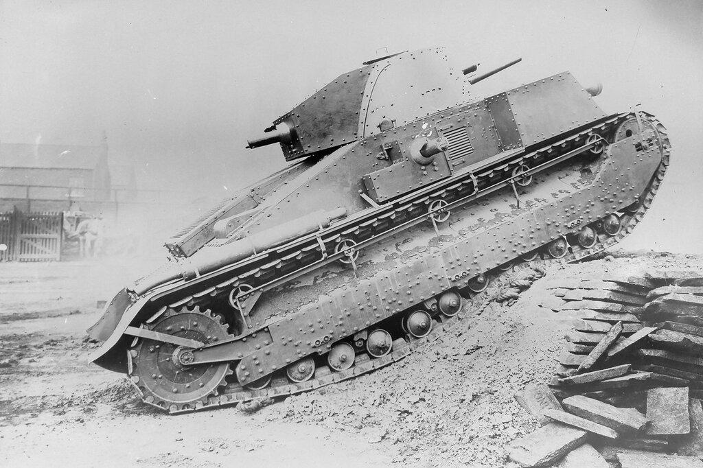 Vickers Medium D на испытаниях в Ирландии, 1928