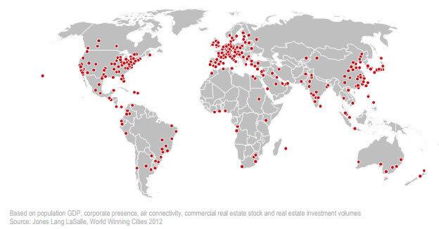 300 мегаполисов мира