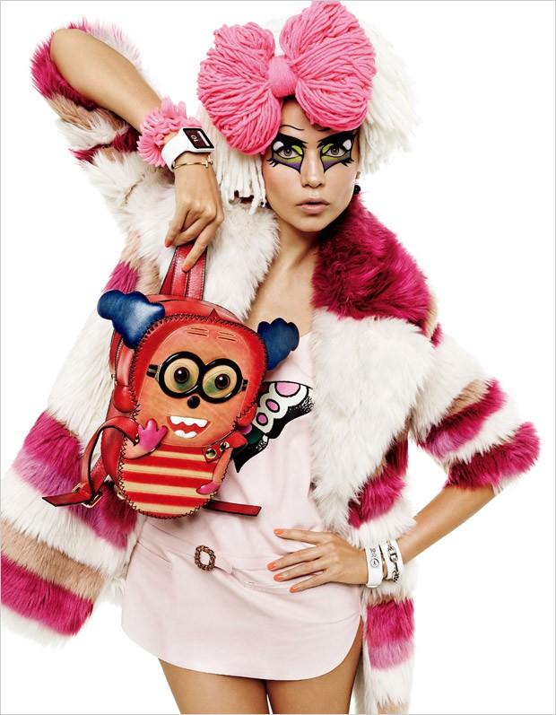 Наташа Поли (Natasha Poly) в журнале Vogue Japan (14 фото)