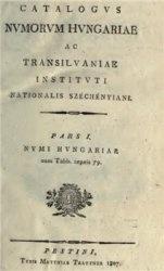 Книга Catalogus Numorum Hungariae ac Transilvaniae