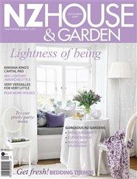 Журнал Журнал New Zealand House & Garden (сентябрь 2009) / NZ