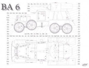Журнал Бронеавтомобиль Ba-6  Modelik 2007-01