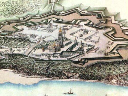 План Старой Печерской Крепости