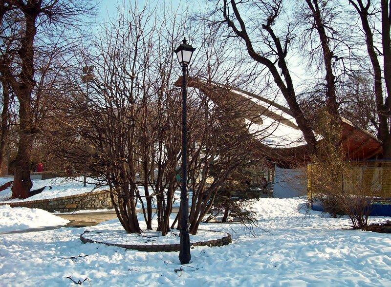 Летняя эстрада Мариинского парка