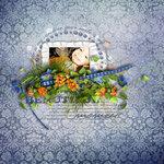 """Скрап набор """"цветочная улыбка"""" 0_74164_6952b185_S"""