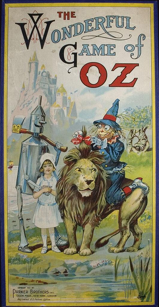 The Wonderful Game of Oz. Salem: Parker Brothers, 1921