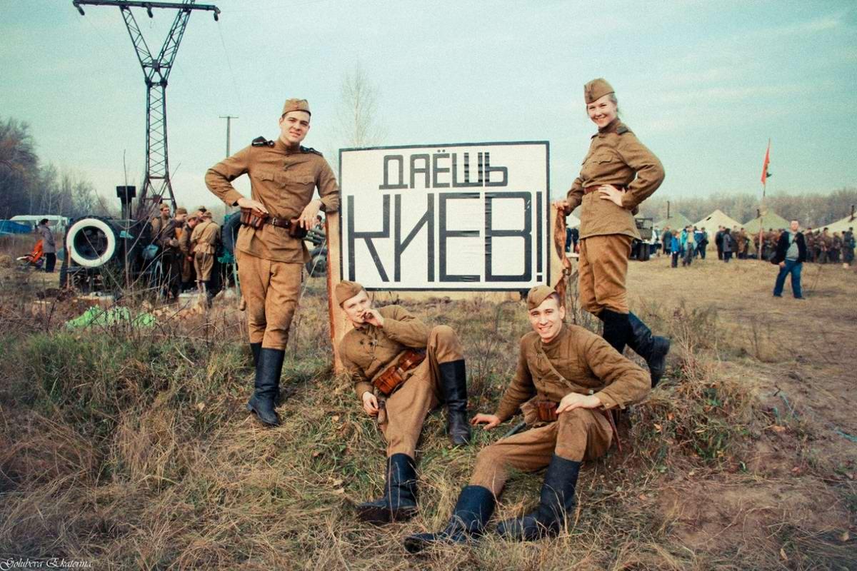 Забавные моменты из жизни военных реконструкторов (90)