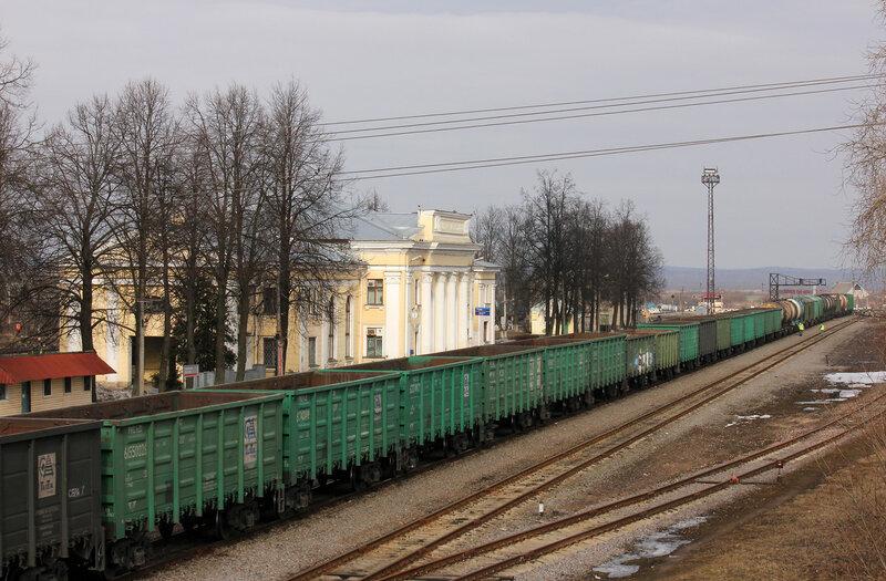 Станция Новосокольники