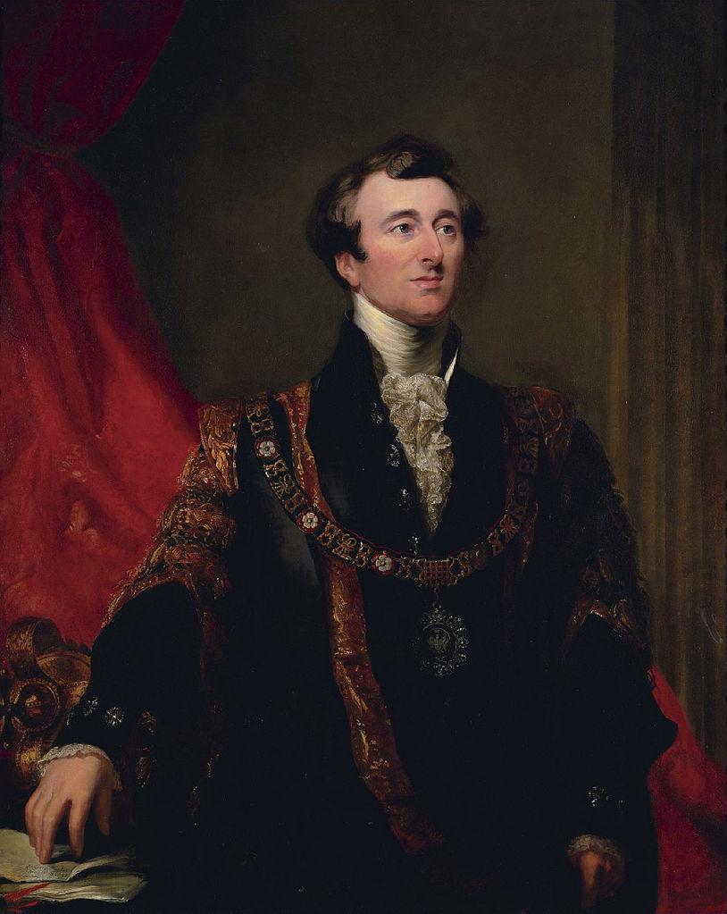 Джон Джонсон, лорд-мэр Лондона в 1845 году