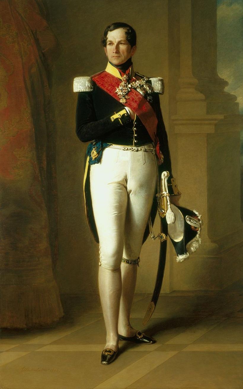 Леопольд I, король бельгийцев (1790-1865)  Подпись и дата 1846