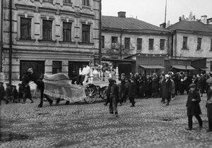 46. Ленинград. Похоронная процессия
