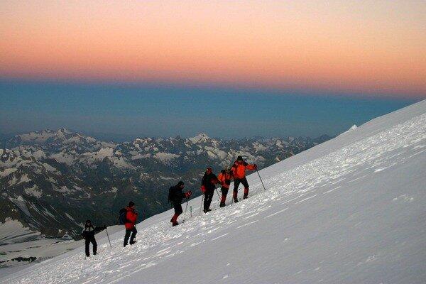 Россия   горный туризм ландшафты Эльбрус