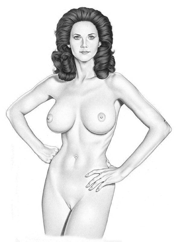 Нарисовать голую женщину оральном