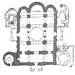Спасопреображенский собор в Чернигове, план