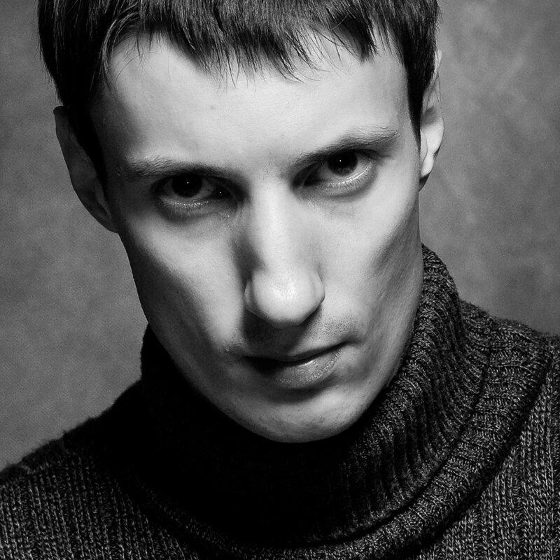 fritzmorgen студийная фотосъемка черно-белого портрета