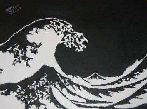 черные рисунки на белом:
