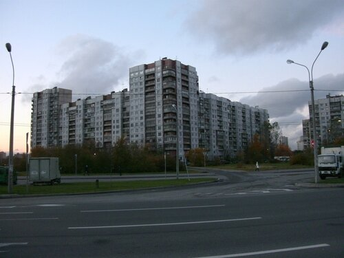 Бухарестская ул. 124/56