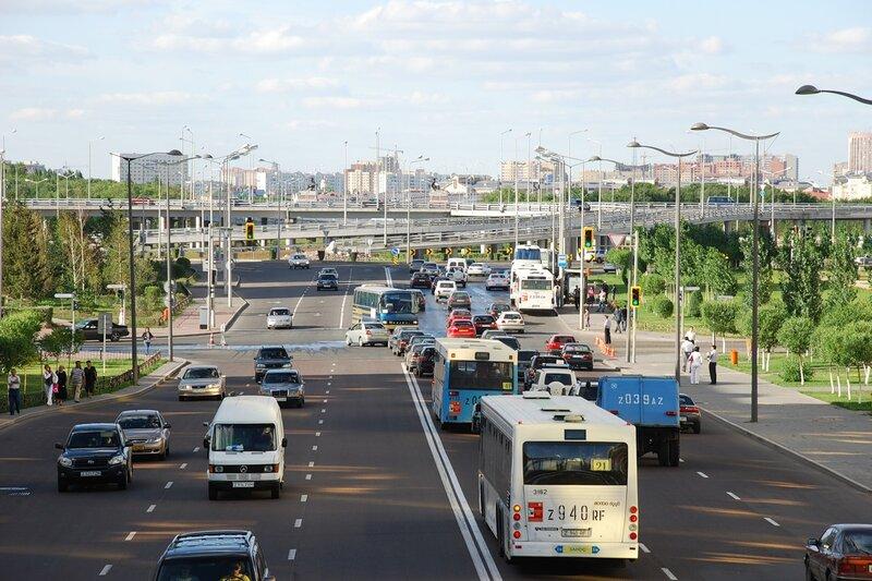 ...пассажирского транспорта и автодорог Астаны приняло решение изменить некоторые астанинские маршруты.