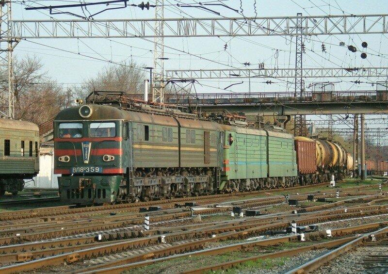 Электровоз ВЛ8М-359 Комментарии: 0 SergG.