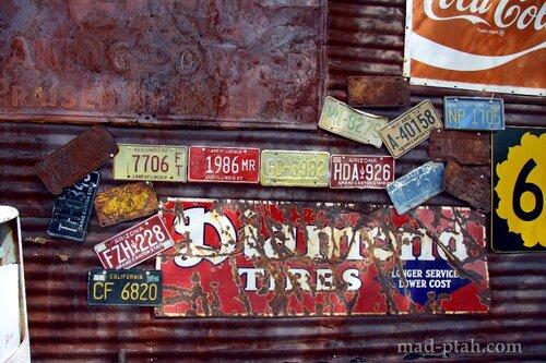 автомобильные номера, музей, сша, дорога 66, route 66
