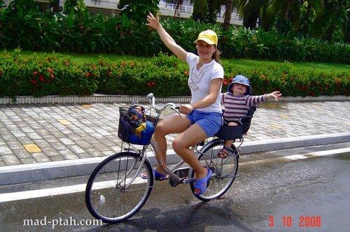 велосипед, хайнань, китай