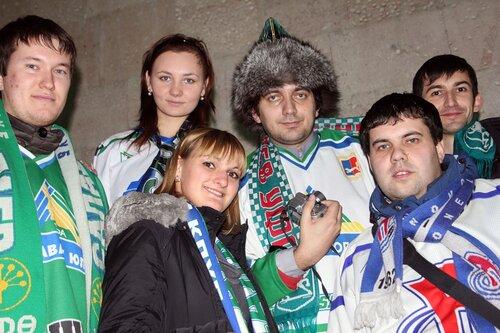 Болельщики Салавата Юлаева