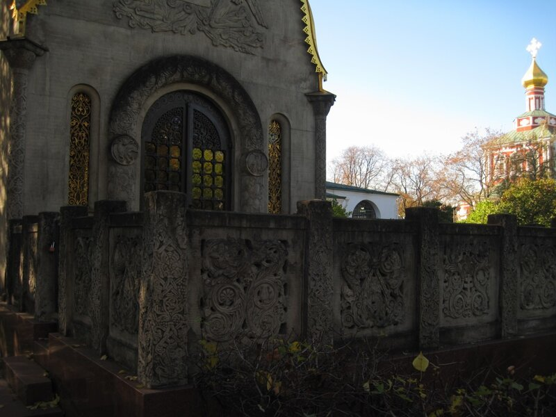 Новодевичий монастырь, часовня, ограда
