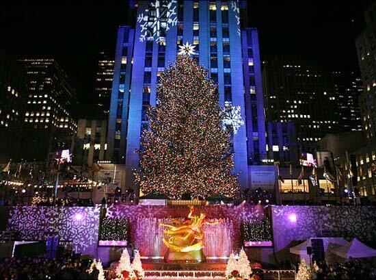 самые красивые новогодние елки фото