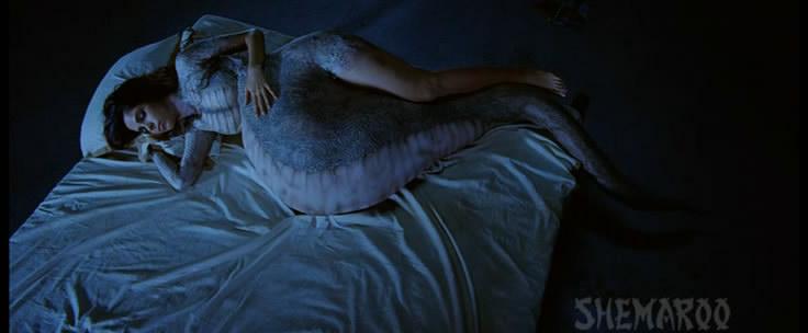 Секс со змей женщина